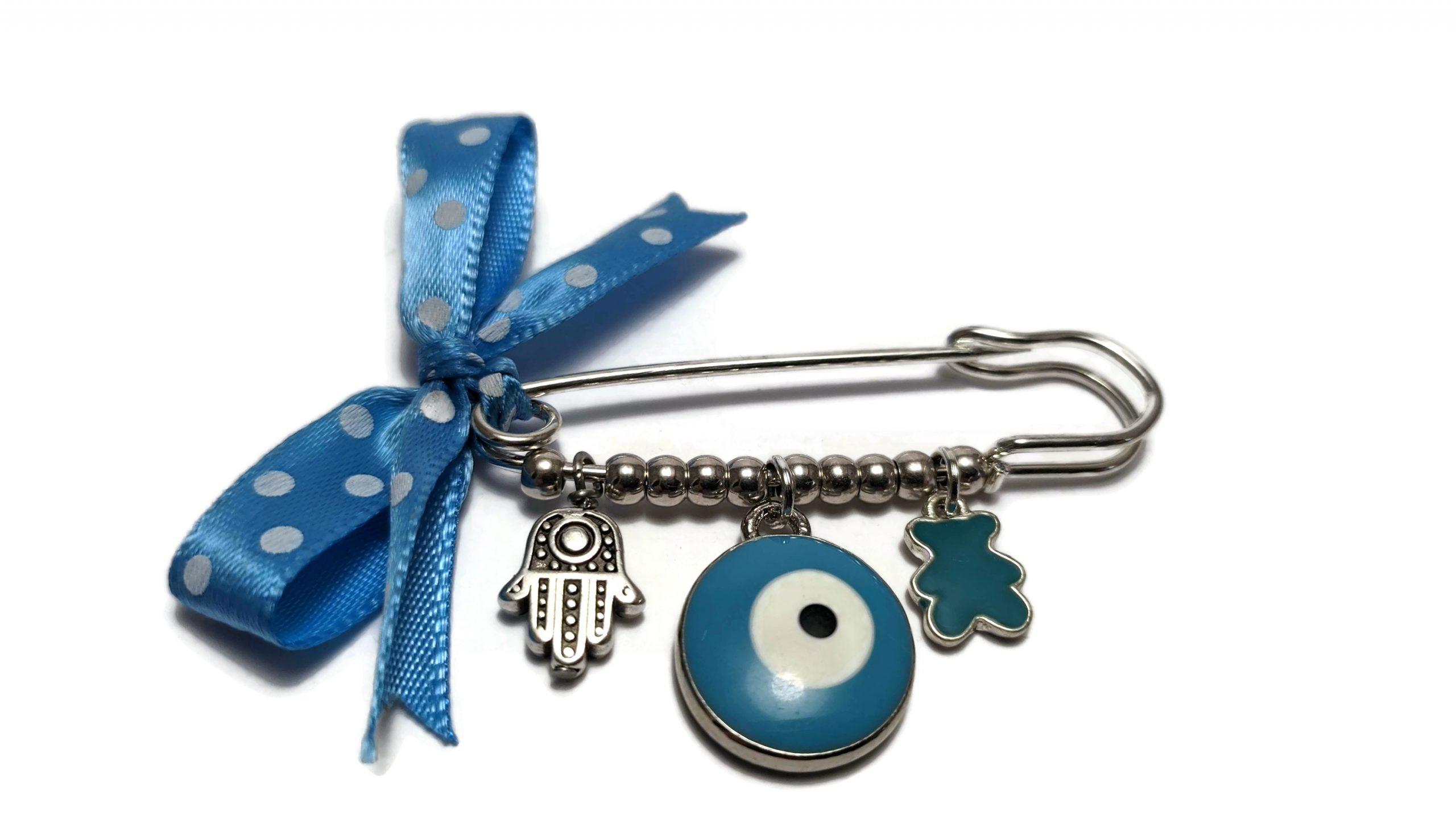 hamsa safety pin