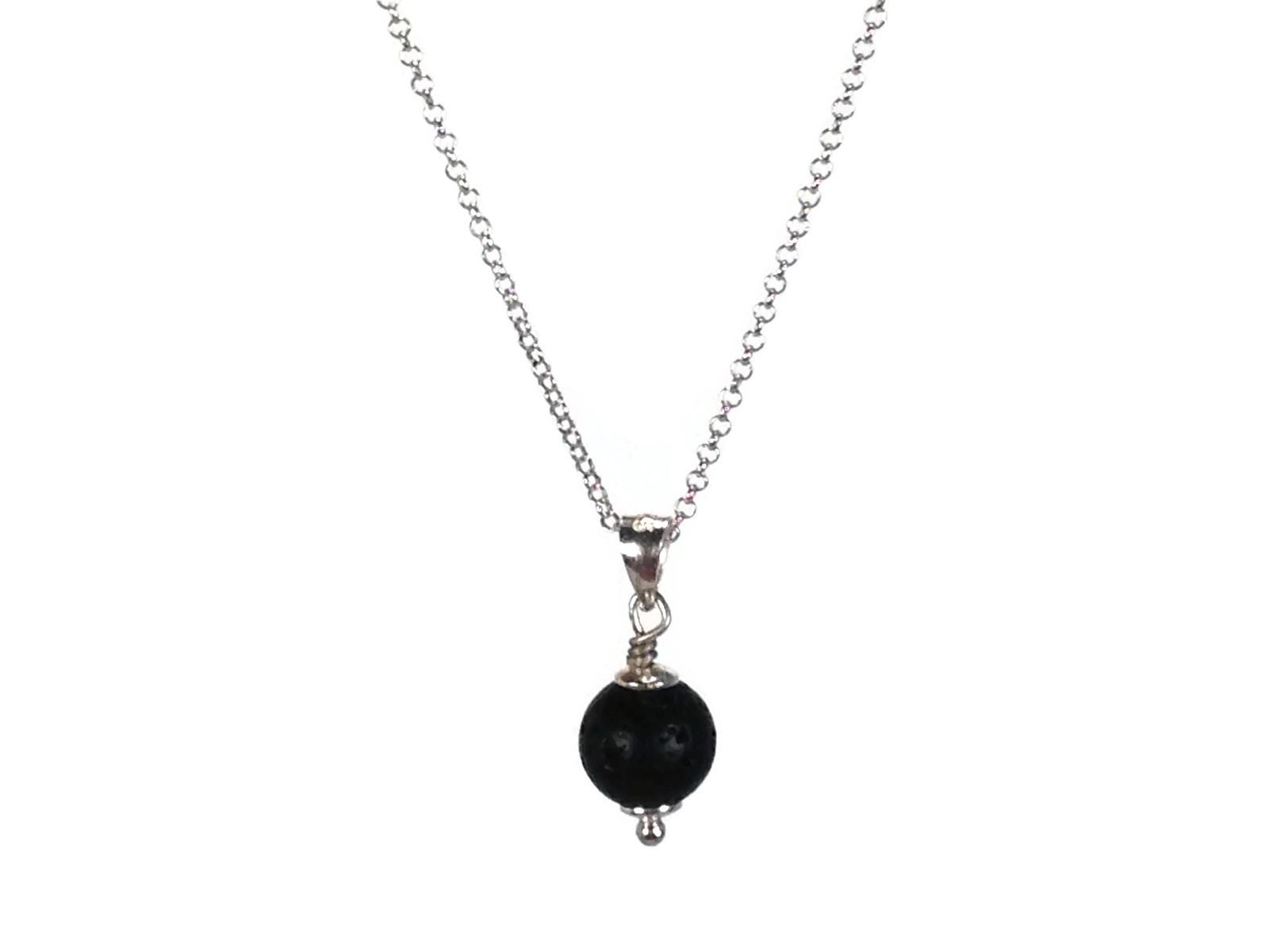 Lava Stone Diffuser Necklace