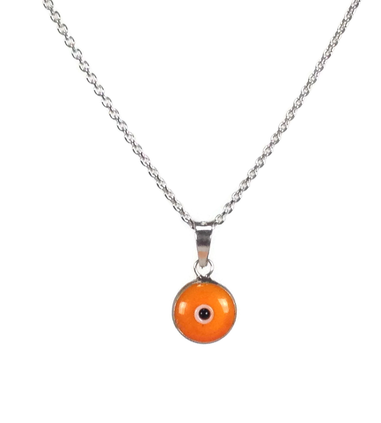 necklace eye gold evil pendant