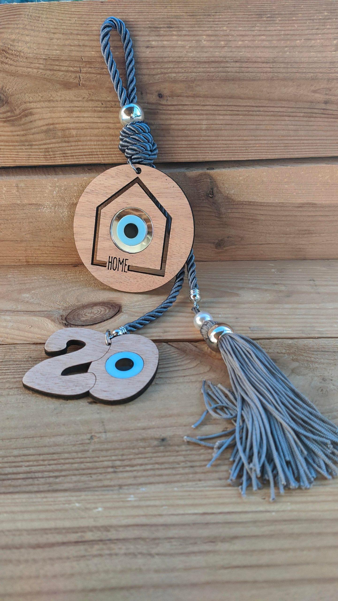 house evil eye ornament