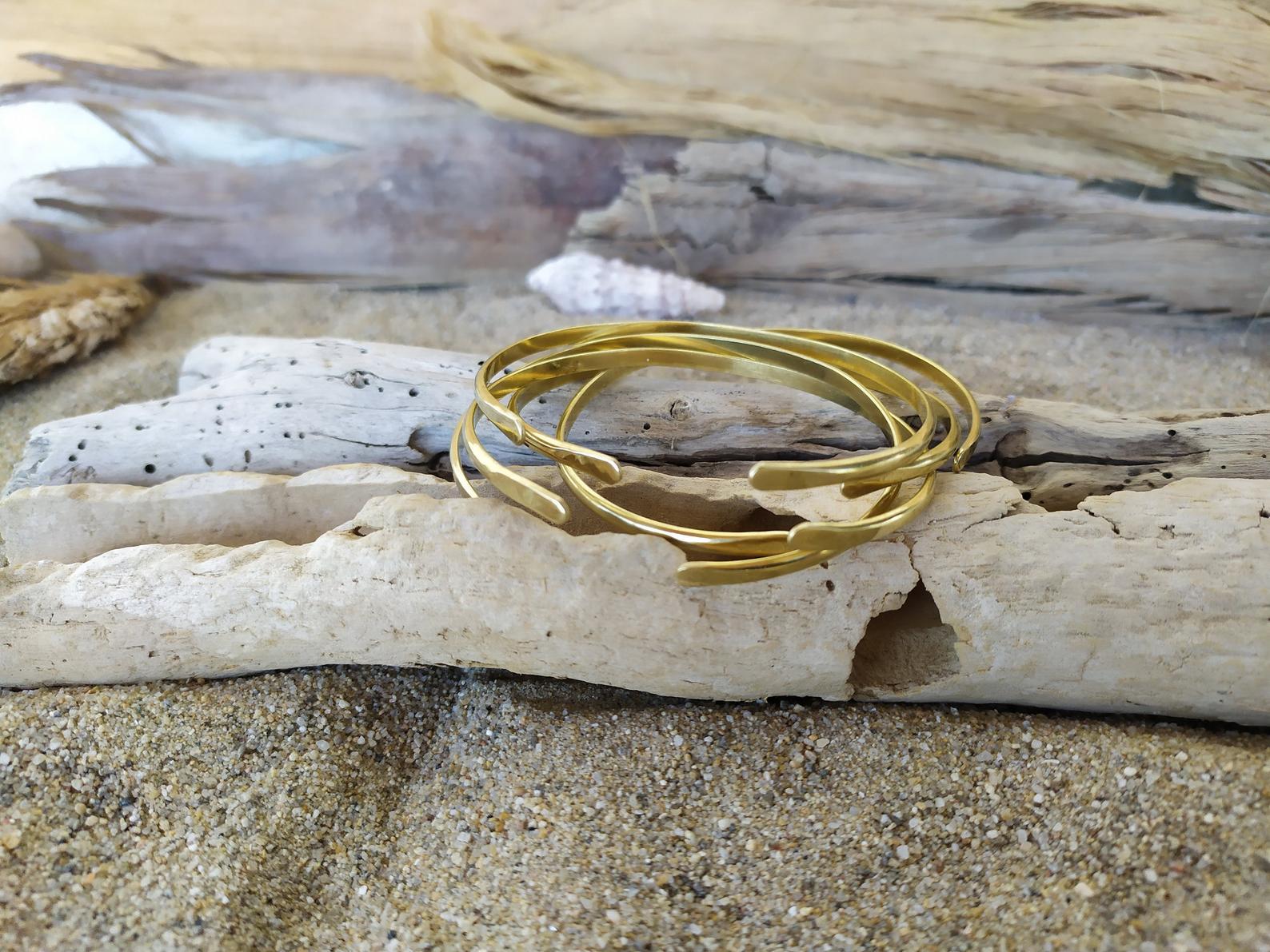 brass bangle bracelets