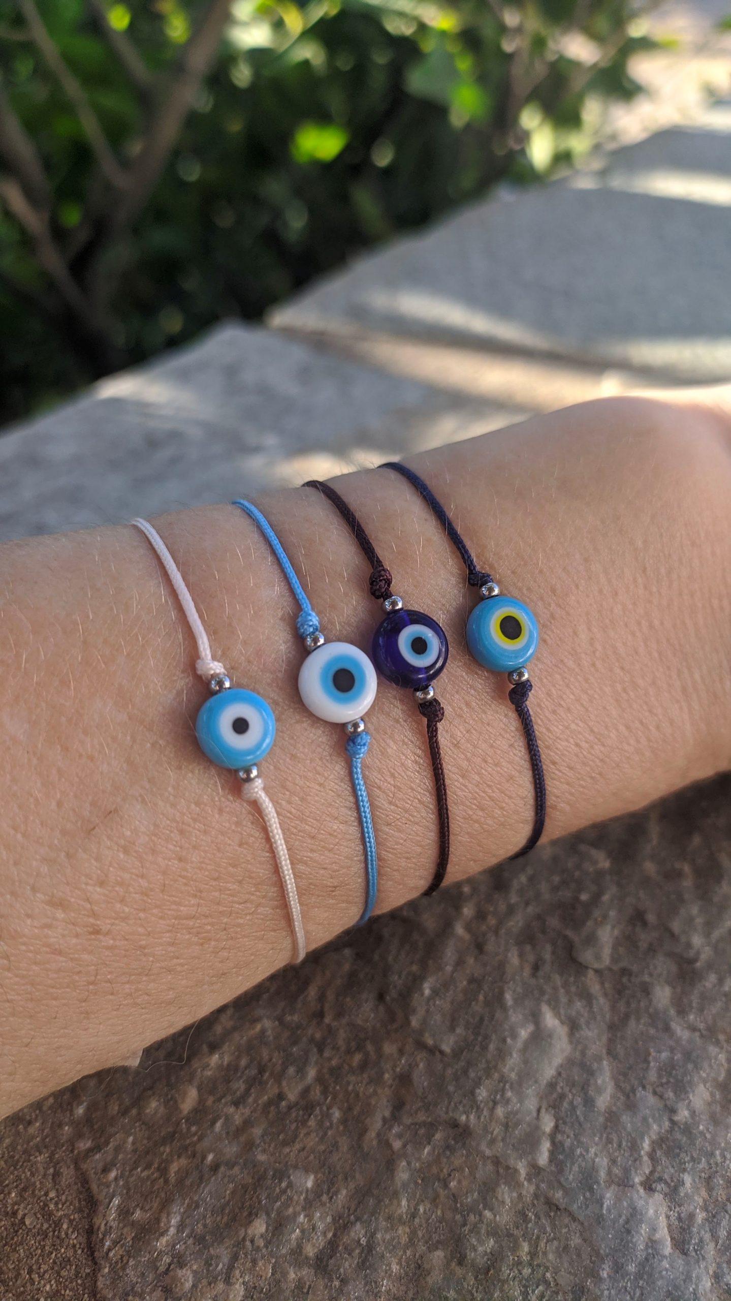 Friendshiip evil eye bracelet